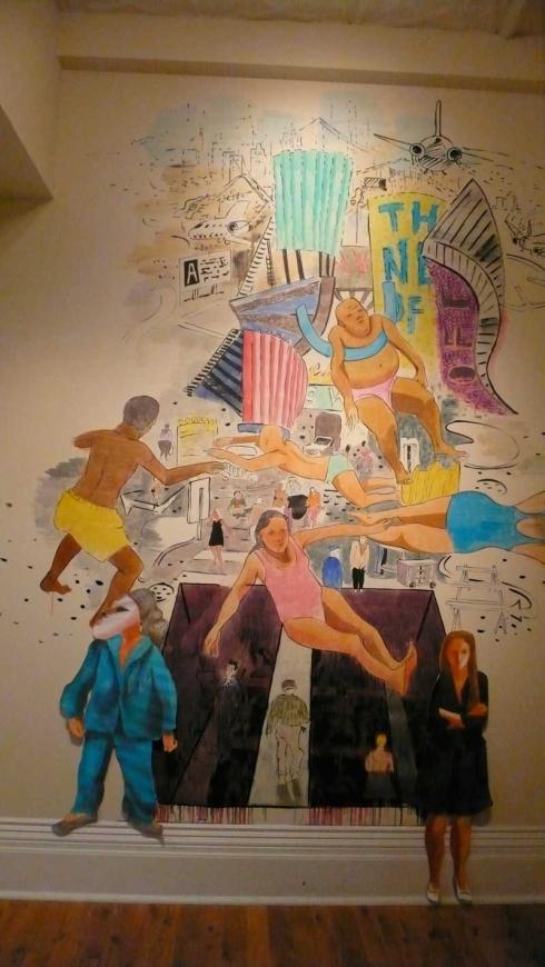 Nuit Blanche installation by artist Sara Hartland-Rowe.