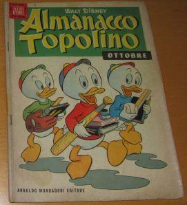 """""""Almanacco Topolino"""" cover"""