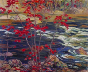 AY Jackson - Red Maple (1914)