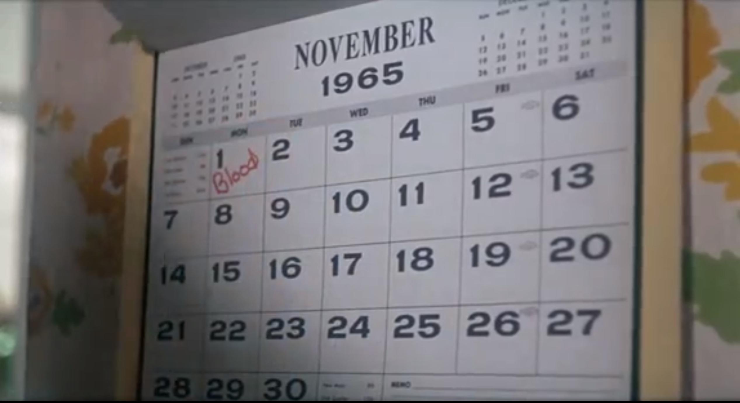 rosemarys calendar